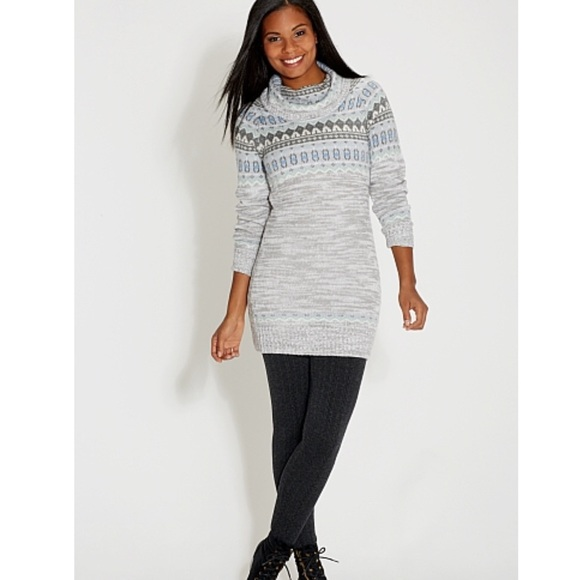 36% off Maurices Dresses & Skirts - Maurices blue fair isle cowl ...